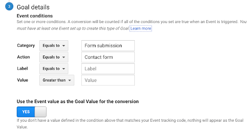 Category and Action are exactly the same as defined within the GA event tag in Google Tag Manager