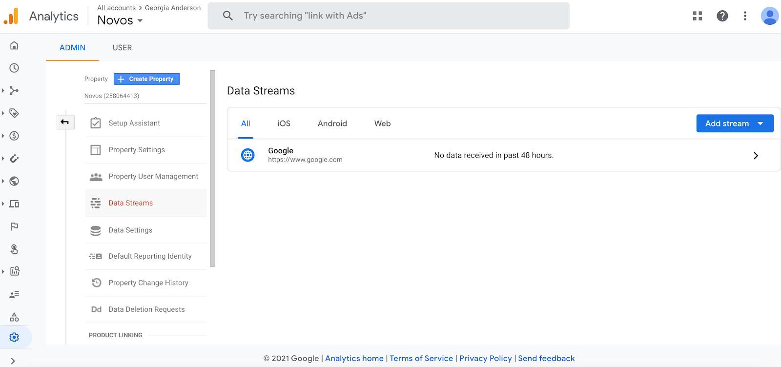 Google analytics for link building