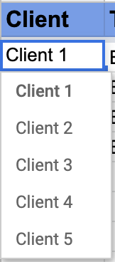 How to create digital PR outeach tracker in google sheets 3