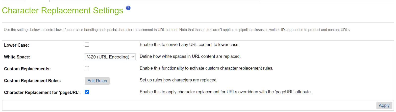 Managing catalog urls in Salesforce commerce cloud