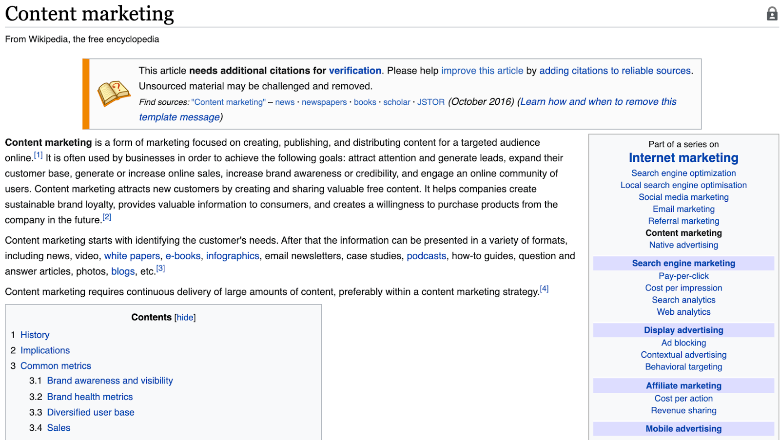 using wikipedia for keyword research for writing seo friendly articles